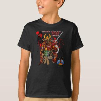 Presa Canarioの武士のサイボーグ Tシャツ