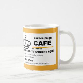 Prescripcionn de Cafe?のtaza コーヒーマグカップ