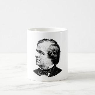 President Andrew Johnson Graphic コーヒーマグカップ