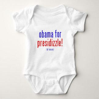 presidizzleのためのオバマ ベビーボディスーツ