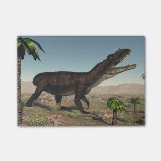 Prestosuchusの恐竜- 3Dは描写します ポストイット