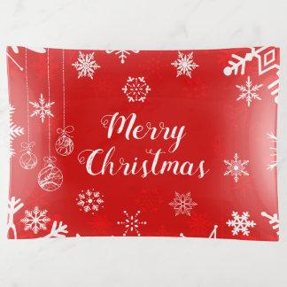 Pretty Merry Christmas トリンケットトレー