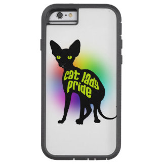 Pride猫の女性 Tough Xtreme iPhone 6 ケース