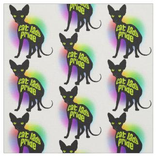 Pride Fabric猫の女性 ファブリック