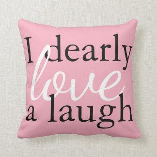 Pride & Prejudice | Pink Jane Austen Quote Pillows クッション