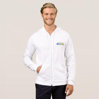PRIDESIDE®カリフォルニアのフリースのジッパーのフード付きスウェットシャツ パーカ