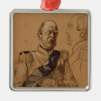 Prince Otto Von Bismarck メタルオーナメント
