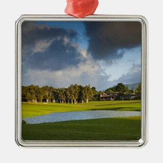 Princeville 4のMakaiのゴルフコース メタルオーナメント