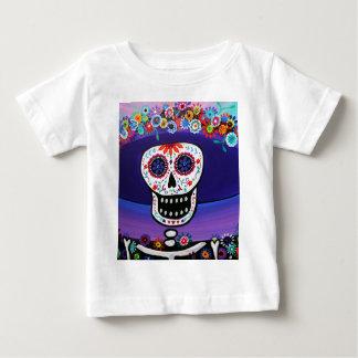 Prisarts著Dia de los Muertos Catrina ベビーTシャツ