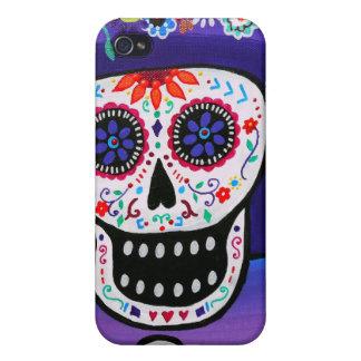 Prisarts著Dia de los Muertos Catrina iPhone 4/4S Cover
