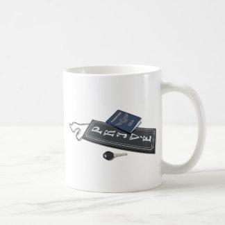 PrivateSignPassportKey101610 コーヒーマグカップ
