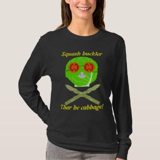 producepirate、南瓜のbuckler、Tharはキャベツです! Tシャツ