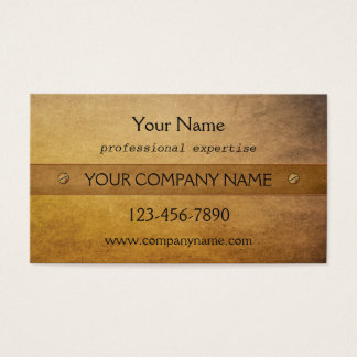 Professional Vintage Rustic Stylish Business Card 名刺
