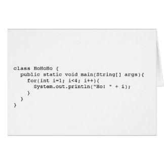 Programatic Ho! Ho! Ho! カード