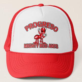 Progresoの強大で赤い蟻の帽子 キャップ