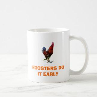 Project61のコピー、オンドリはそれを早くします コーヒーマグカップ