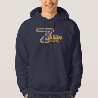 ProjektZero Pixelatedのフード付きスウェットシャツ パーカ