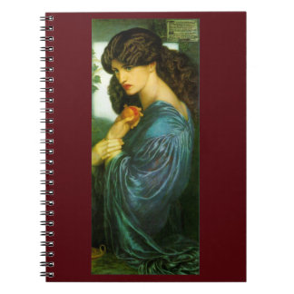 Proserpineのラファエロ前の画家のノート ノートブック