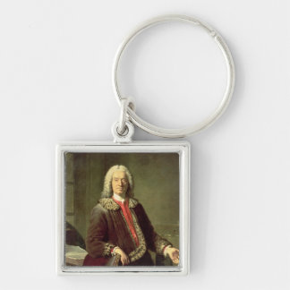 prosper Jolyot de Crebillon 1746年のポートレート キーホルダー