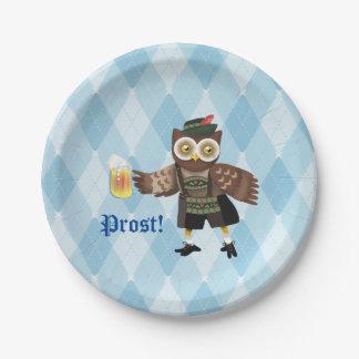 Prost! Oktoberfest owl