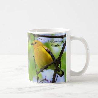 Prothonotaryのアメリカムシクイのコーヒー・マグ コーヒーマグカップ