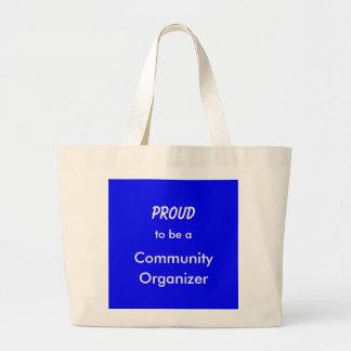Proud2Beコミュニティオルガナイザー(トート) ラージトートバッグ