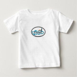 Provincetownの楕円形の設計 ベビーTシャツ