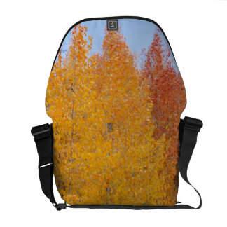 Provoの川および《植物》アスペンの木13 メッセンジャーバッグ