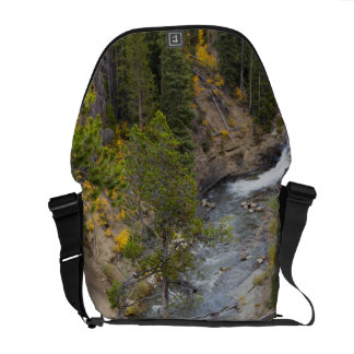 Provoの川および《植物》アスペンの木14 メッセンジャーバッグ