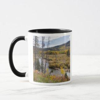 Provoの川および《植物》アスペンの木5 マグカップ