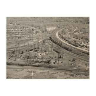 PRRの動物園の接続点 ウッドウォールアート