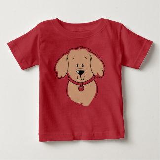 ps010かわいい犬 ベビーTシャツ