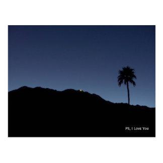 PS、私は影のパーム・スプリングス愛します ポストカード