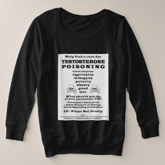 PSAの毒するテストステロン プラスサイズスウェットシャツ