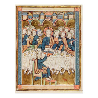 「Psautierからの最後の晩餐、l'Usage deパリ ポストカード
