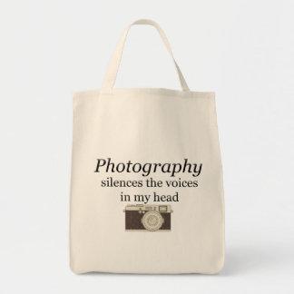 pstvimhPhotographyは私の頭部の声を沈黙させます トートバッグ