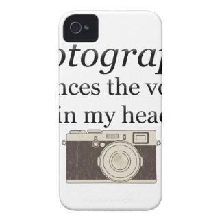 pstvimhPhotographyは私の頭部の声を沈黙させます Case-Mate iPhone 4 ケース