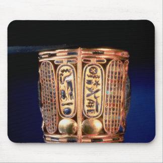 Psusennes Iのcartoucheが付いているブレスレット マウスパッド