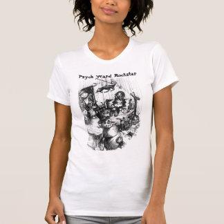"Psychの区のロックスター: ""Gwen部屋"" Tシャツ"