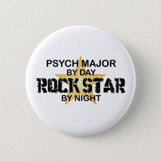 Psychの夜までに専攻のなロックスター 5.7cm 丸型バッジ
