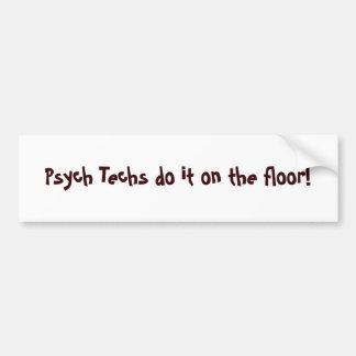 Psych 技術  床! - カスタマイズ バンパーステッカー
