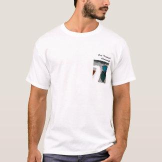PTのスキフはTシャツを曲げます Tシャツ