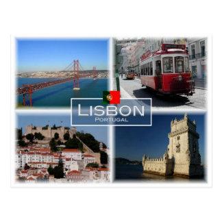 PTポルトガル-リスボン- ポストカード