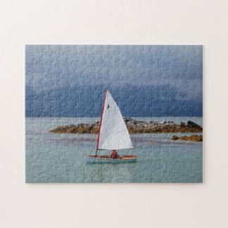 PT11ネスティングディンギーの景色の航行のパズル ジグソーパズル