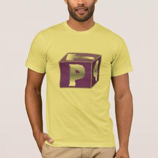 PT4立方体 Tシャツ