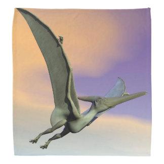 Pteranodonの恐竜の飛行- 3Dは描写します バンダナ