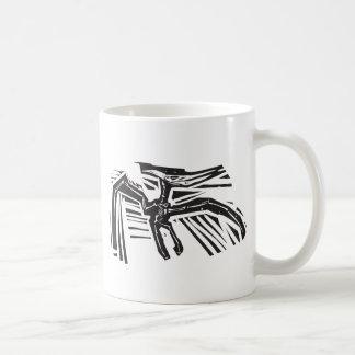 Pterodactylの化石 コーヒーマグカップ