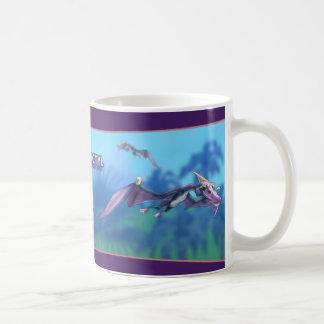 Pterodactylの恐竜 コーヒーマグカップ