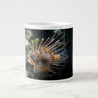 PteroisのAntennata Broadbarred Firefishのミノカサゴ ジャンボコーヒーマグカップ
