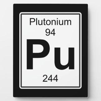 Pu -プルトニウム フォトプラーク